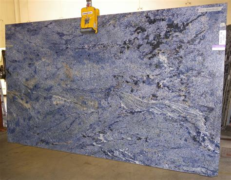 azul bahia granite slab sold by milestone marble