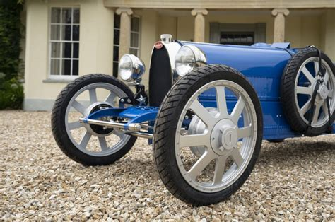 Top speed climbs to 42 mph and range increases to 31 miles. Bugatti Baby II Unveiled at 110th Anniversary