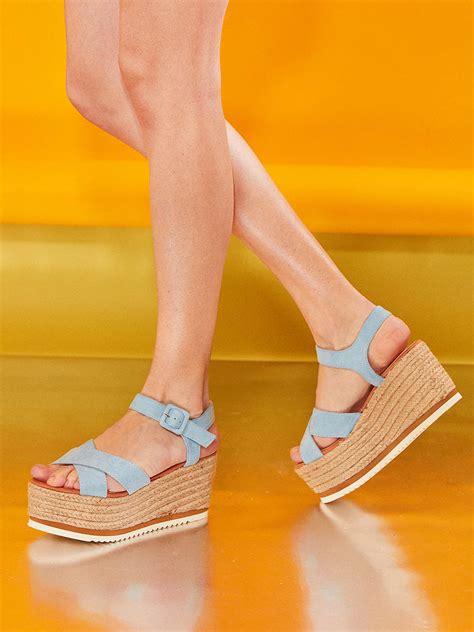 Sandale Dama Vara Platforma Bleu Ieftine Inalta Sanda ONLINE