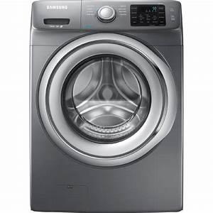 Samsung Wf42h5200ap 4 2 Cu  Ft  Front-load Washer W   Steam Washing