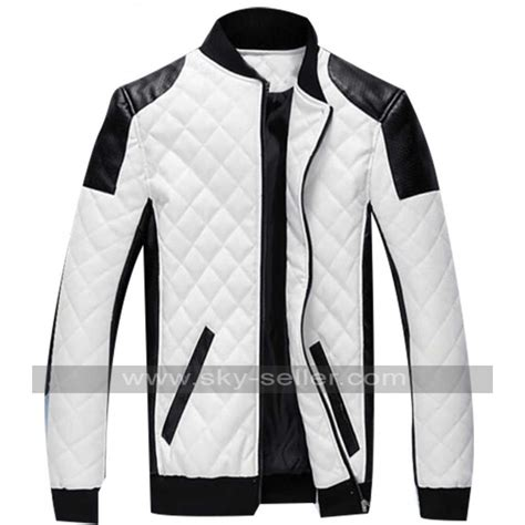 padded leather motorcycle jacket cotton padded motorcycle leather patch jacket