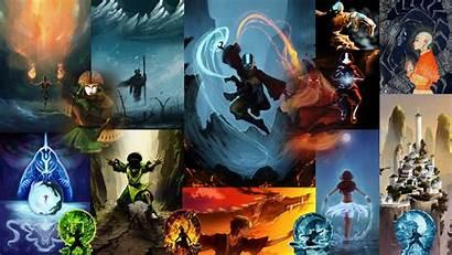 Last Airbender Avatar Wallpapers Bender Air Korra