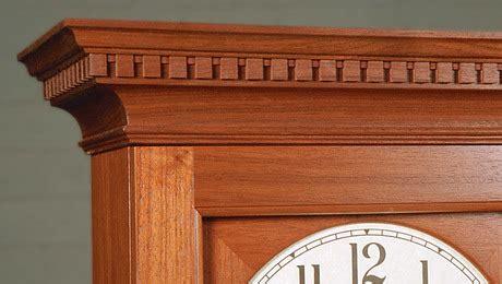 dentil moldings  fine furniture part  finewoodworking