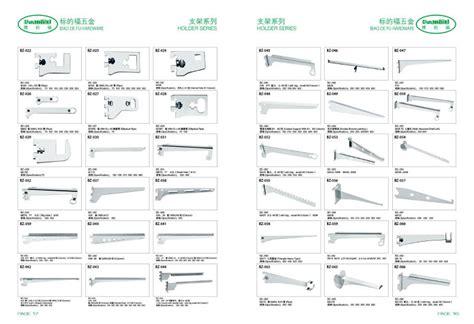 Metal Angle Adjustable Shelf Brackets