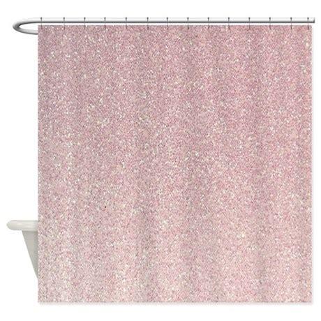 glitter shower curtain light pink faux glitter texture shower curtain by