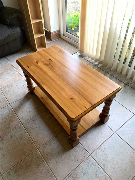 Pine apple shape coffee table with customized design antique finishes good quality for home decorative furniture use. Solid Pine Coffee Table | in Cheltenham, Gloucestershire | Gumtree