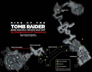 rise of the tomb raider wicked vale map png neoseeker With documents wicked vale tomb raider