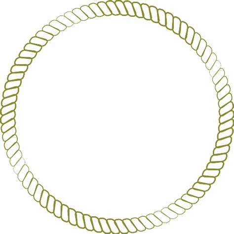 Rope Border Clipart Gold Rope Clip Cliparts