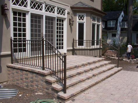 Steel Handrail Cost Exterior Wrought Iron Stair Railing