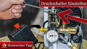 Druckschalter Für Hauswasserwerk : druckschalter einstellen anleitung f r kompressoren youtube ~ Frokenaadalensverden.com Haus und Dekorationen