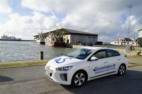 auto mieten norwegen erfahrungsbericht mit hyundai ioniq nach norwegen