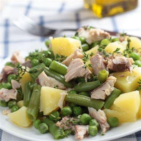 cuisine az recettes recette salade de pommes de terre au thon haricots et