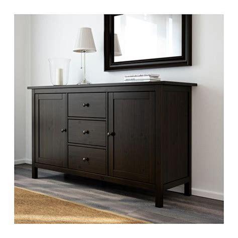 Black Brown Sideboard by Hemnes Hemnes And Ikea