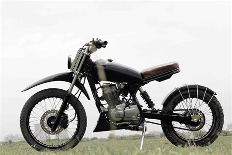 Hero Honda Impulse Converted To Dirt Bike By Element8