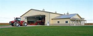 Post Frame Steel Buildings Ag, Equestrian, Commercial