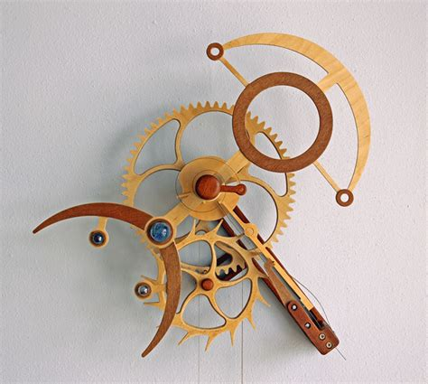 wooden clock plans  clayton boyer cnccookbook