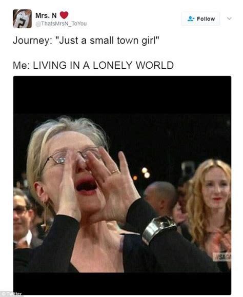 Meryl Streep Memes - image of meryl streep cheering is turned into a meme daily mail online