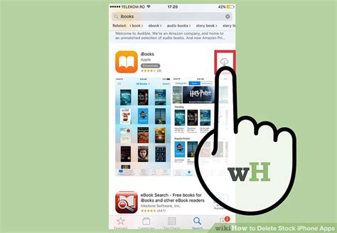 how to delete stock iphone apps with wikihow