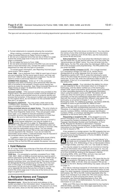 inst 1099 general instructions general instructions for