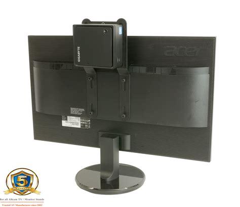 Mini Cpu Holder Desk Mount by Allcam Professional Nuc Mini Cpu Holder Stand Vesa Mount