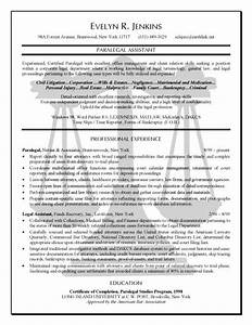 Online Cover Letter Template Paralegal Resume Example