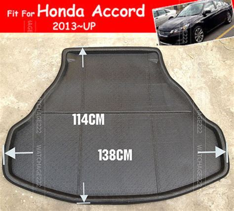 Honda Accord Floor Mats 2015 by Accessories Fit For 2013 2014 2015 Honda Accord Rear Trunk