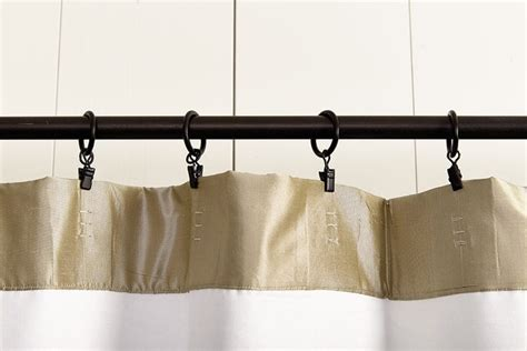 How To Use Drapery Rings by What S The Best Way To Hang Your Drapery