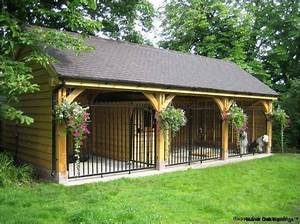 dog kennel designs and drawings oak framed garages With stylish dog kennels