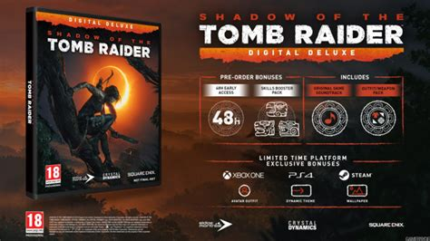 shadow   tomb raider season pass  special editions