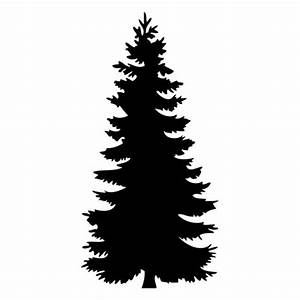 Free Cedar Tree Silhouette  Download Free Clip Art  Free