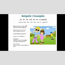 A1 Learn German Learn The Prepositions With Dative With A Song Part 2 Youtube
