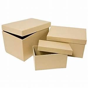 Runde Schachtel Basteln : rechteckige schachteln online kaufen buttinette bastelshop ~ Frokenaadalensverden.com Haus und Dekorationen