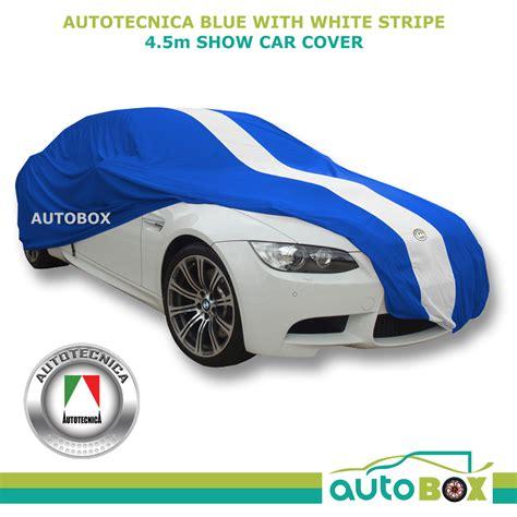 Show Car Cover Medium Blue Indoor E-type Jaguar Fits 4.5m