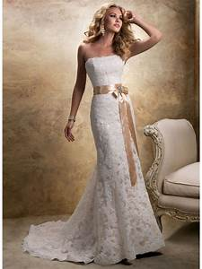 Chic cheap lace wedding dresses ipunya for Lace wedding dresses cheap