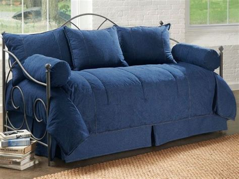 pc denim daybed cover set daybed covers  daybeds