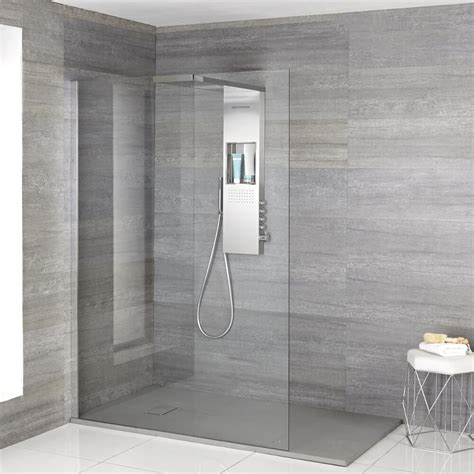 Small Ls For Bathroom by Vaso Complete Walk In Shower Enclosure With Grey