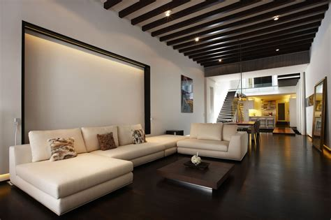 Modern Home Interior by Pre War Shophouse In Singapore Transformed Into Luxury