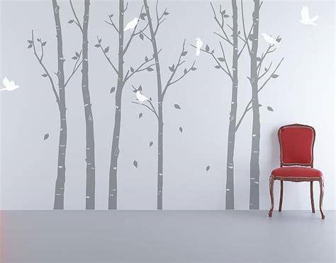 Wall Stickers Urban Forest Grey By Zazous