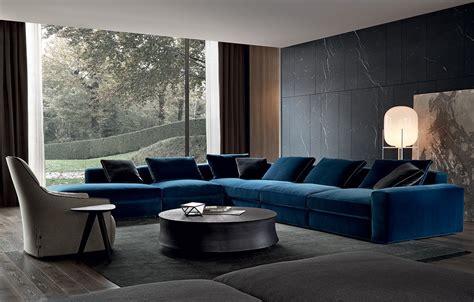 canapé italien sofa sofas poliform dune