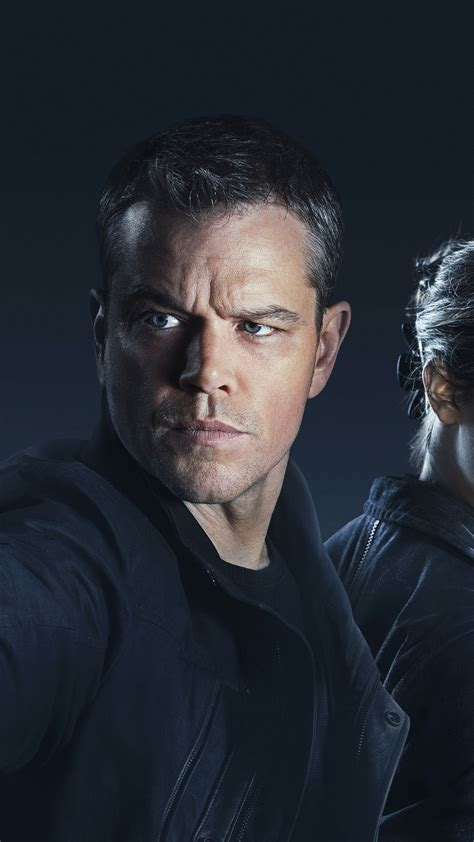 wallpaper jason bourne matt damon alicia vikander
