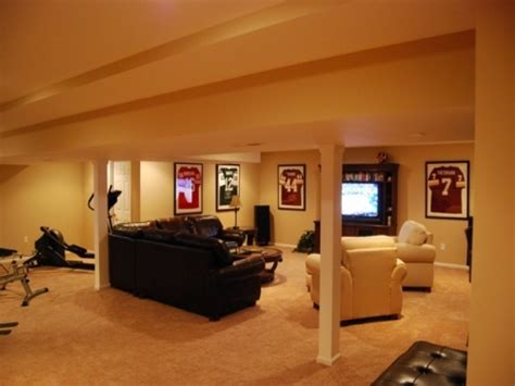 Home Design Ideas Basement by House Plan Stunning Design Of Unfinished Basement Ideas