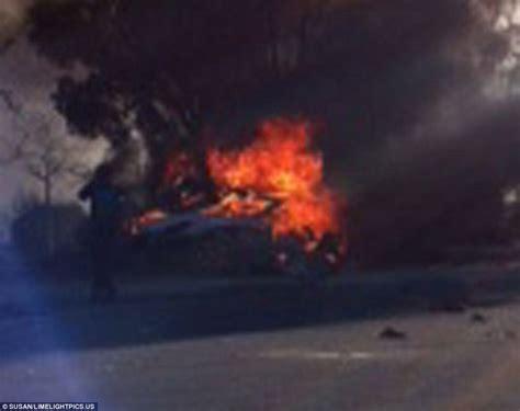 Paul Walker 'was in a STREET RACE when he died in fireball