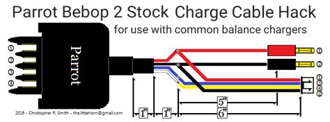 high pro glow parrot bebop  bebop  power stock charge cable hack