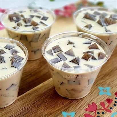 Jelly Coffee Pinoycookingrecipes Recipe Ube Buchi Sesame