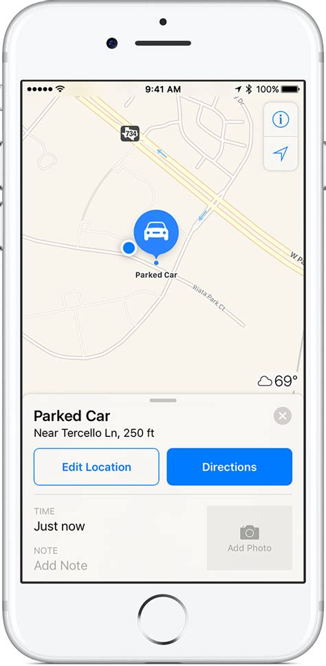 maps for iphone how to find your parked car with maps on your iphone