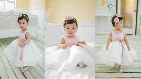 Bead Newborn Wedding Dress 1 Year Birthday Dresses ! Baby