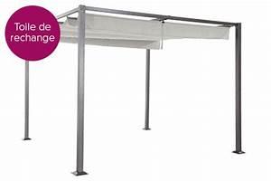 Toile Pour Tonnelle 3x3 : toile de toit pour la tonnelle elliston hesp ride jardideco ~ Dailycaller-alerts.com Idées de Décoration