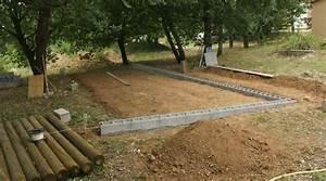 Dimension Terrain De Boule : construction d 39 un terrain de p tanque le blog de richard 68 ~ Dode.kayakingforconservation.com Idées de Décoration