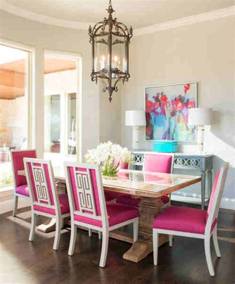 rooms  inspiration charming pink dining room