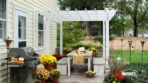 home and garden fall patio decorating ideas